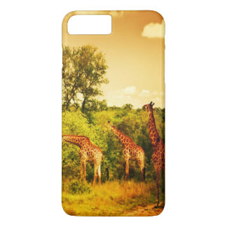 Girafes sud-africaines coque iPhone 7 plus