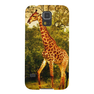 Girafes sud-africaines coques pour galaxy s5