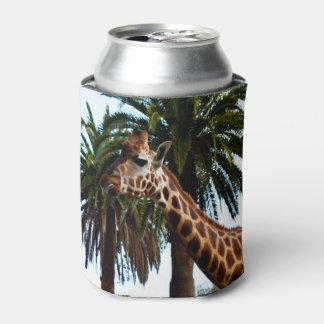 Giraffe_Raspberry, _Stubby_Can_Cooler_Holder. Rafraichisseur De Cannettes
