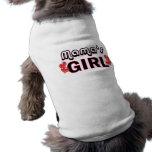 Girl Dog Shirt de maman T-shirt Pour Toutou