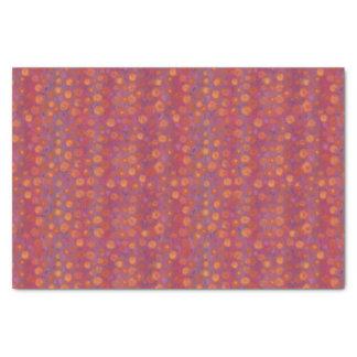 Gisement de sucrerie, motif floral abstrait, papier mousseline