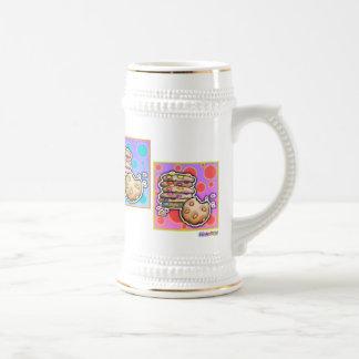 Givré, tasses - biscuits d'art de bruit