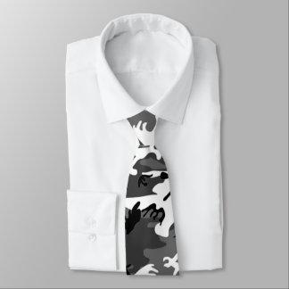 Glace Camo d'hiver Cravate