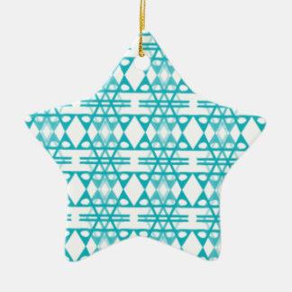 Glace de diamant ornement étoile en céramique