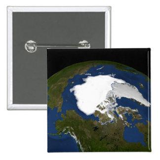 Glace de mer arctique en 2005 badges