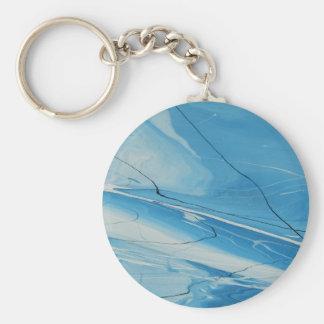 Glace mince porte-clés
