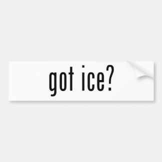 glace obtenue ? autocollant pour voiture