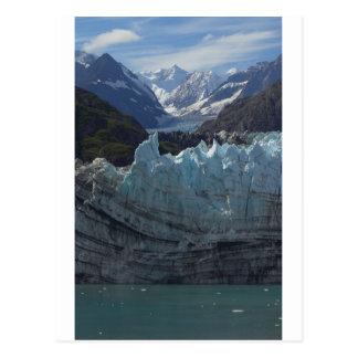 Glacier Alaska de Margerie Carte Postale