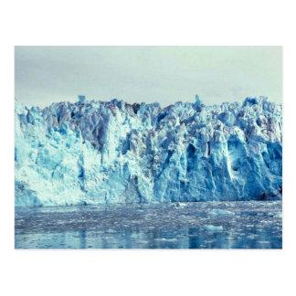 Glacier de Colombie Carte Postale