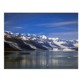 Glacier de Harvard dans le fjord d'université, Carte Postale
