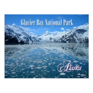 Glacier de Johns Hopkins, baie de glacier, Alaska Carte Postale