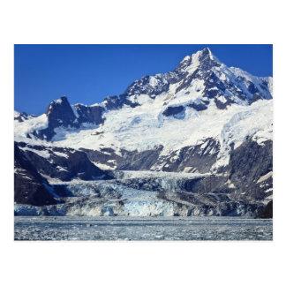 Glacier de Johns Hopkins dans la baie de glacier Carte Postale