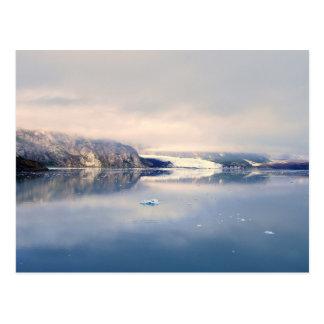Glacier de Margerie, baie de glacier Alaska, carte