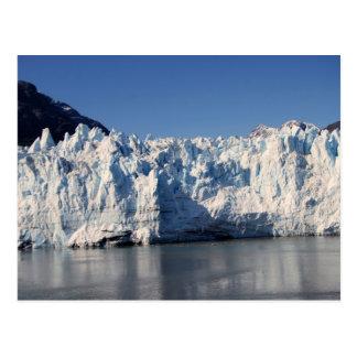 Glacier de Margerie, carte postale de l'Alaska