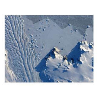 Glacier de Matusevich, carte postale de