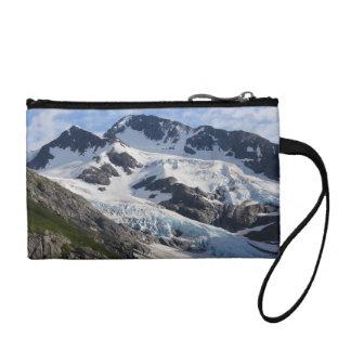Glacier de montagne porte-monnaies