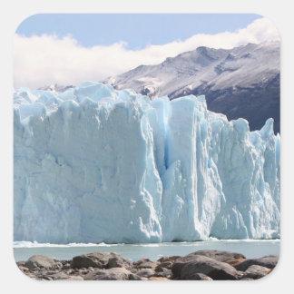 Glacier de Perito Moreno, Argentine 2 Sticker Carré