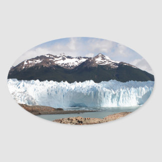 Glacier de Perito Moreno, Argentine Sticker Ovale