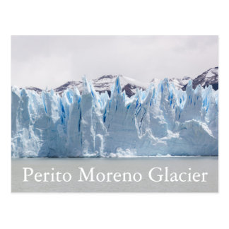Glacier de Perito Moreno, Patagonia, Argentine Carte Postale