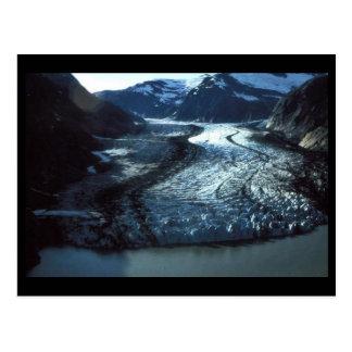 Glacier de secousses en Alaska du sud-est Cartes Postales