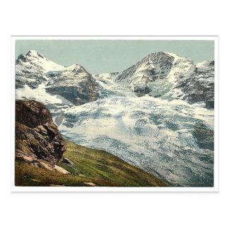 Glacier d'Eiger, Bernese Oberland, vinta de la Cartes Postales
