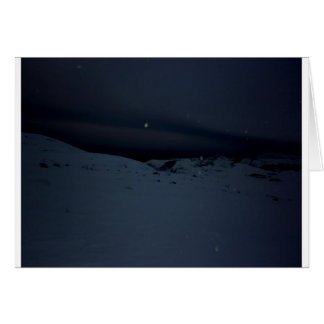 Glacier islandais carte de vœux