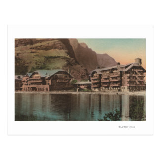 Glacier, la TA - vue des nombreux hôtel de glacier Cartes Postales