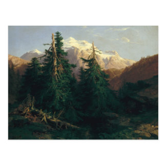 Glacier, Rosen Lanigletscher, 1854 Cartes Postales