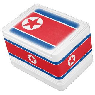 Glacière Pour Canettes Drapeau coréen du nord