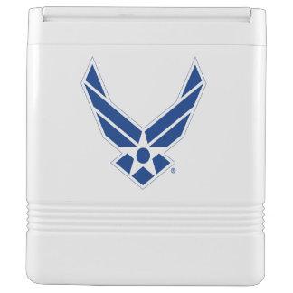 Glacière Pour Canettes Logo d'armée de l'air des États-Unis - Bleu