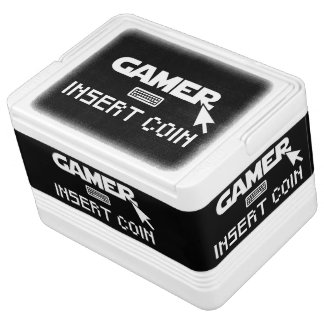 Glacière Pour Canettes Pièce de monnaie d'insertion de Gamer
