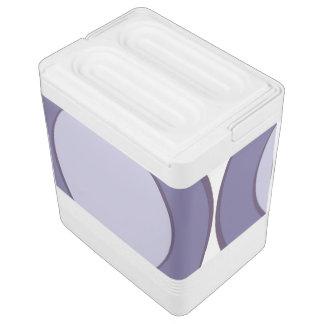 Glacière Pour Canettes Point lilas