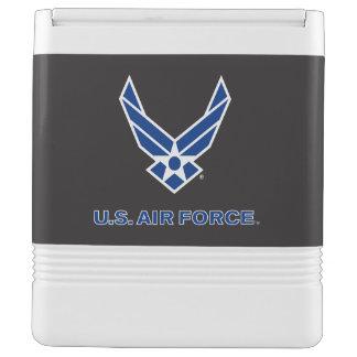 Glacière Pour Canettes U.S. Logo de l'Armée de l'Air - bleu