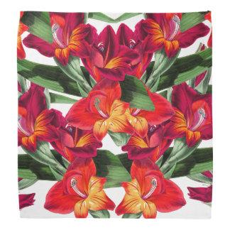 Gladiolas botanique fleurit le Bandana floral