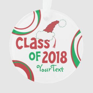 Gland 2018 drôle personnalisé de diplômé de classe