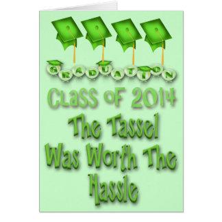Gland en valeur l'obtention du diplôme 2014 de carte de vœux