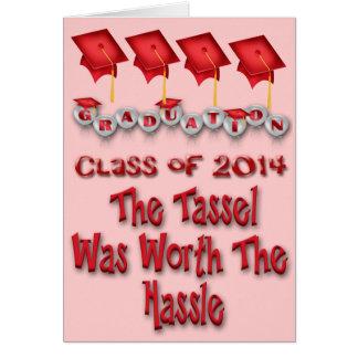 Gland en valeur l'obtention du diplôme 2014 de dis cartes de vœux