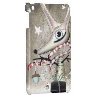 Glands de Fox de Noël d'hiver Coque Pour iPad Mini