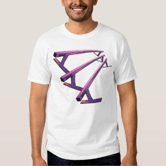 glissière de rail t-shirts