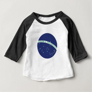 Globe brésilien t-shirt pour bébé
