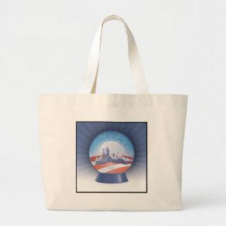 globe de neige d'obama grand sac