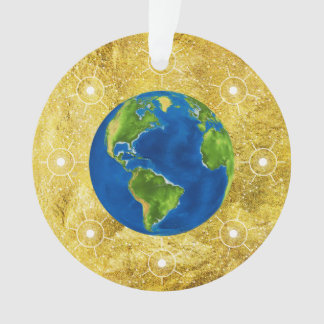 Globe d'or d'arbre de Jesse