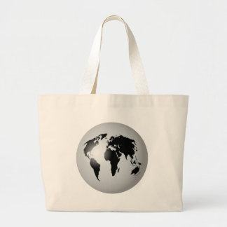 Globe du monde grand sac