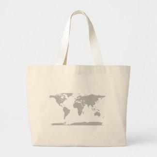 globe gris grand sac