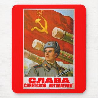 Gloire à l'artillerie soviétique tapis de souris