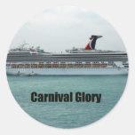Gloire de carnaval adhésifs