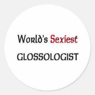 Glossologist le plus sexy du monde adhésifs