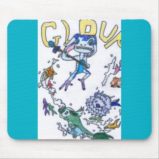 Gloup, le gardien de la mer tapis de souris