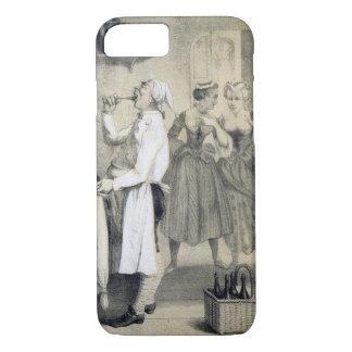 Gloutonnerie dans la cuisine, d'une série de coque iPhone 7