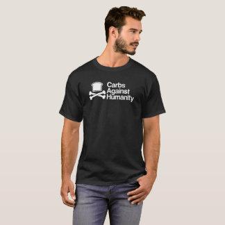 Glucides contre la pièce en t d'humanité ! t-shirt